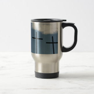 3 Crosses Travel Mug
