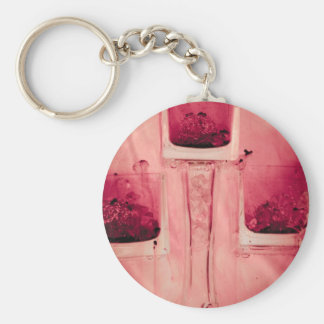 """""""3 cubes in red"""" collection original photography b keychain"""
