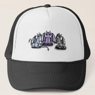 3 cute Dragons Trucker Hat