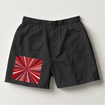 3-D explosion in Patriotic Colors Boxers