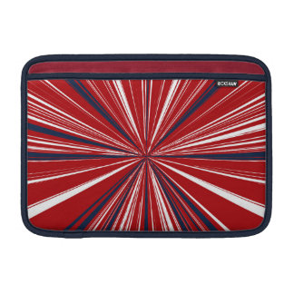 3-D explosion in Patriotic Colors Sleeve For MacBook Air