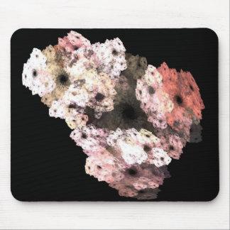 3-D Floral Fractal Art Mouse Pad
