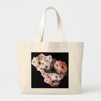 3-D Floral Fractal Art Tote Bag