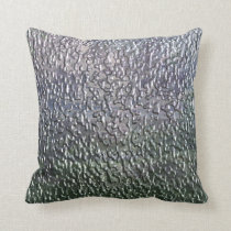 3-D Rain Throw Pillow
