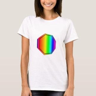 3-D Rainbow Octagon T-Shirt