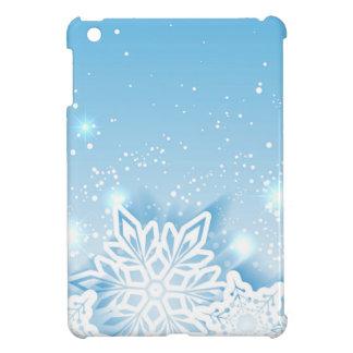 3-D snowflakes Case For The iPad Mini