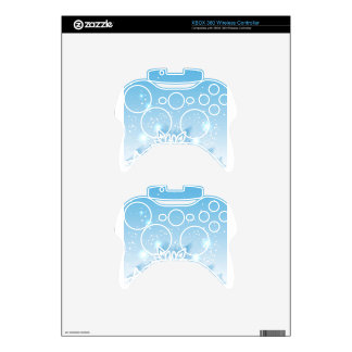 3-D snowflakes Xbox 360 Controller Decal