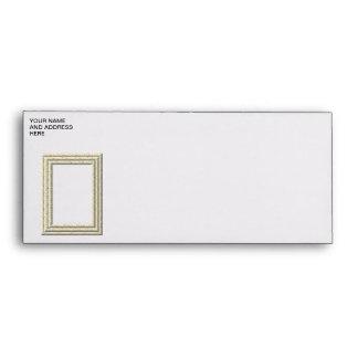"""3-D"" White Daisies Frame Envelopes"