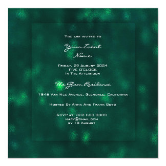 3-D Woodland CaliGreen Glass Greenery Tropical Lux Card