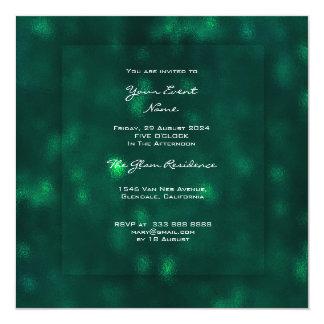 3-D Woodland CaliGreen Glass Greenery Tropical VIP Card