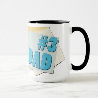 #3 Dad - Fathers Day - Mug