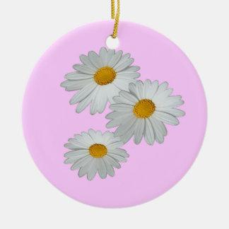 3 Daisies Ornament