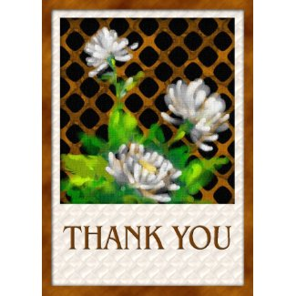 3 daisies-thank you card