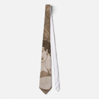 '3 Dancers'  in sepia necktie