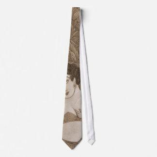 '3 Dancers'  in sepia necktie