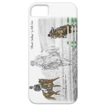 3-Day Eventing Horses Combined Training iPhone SE/5/5s Case