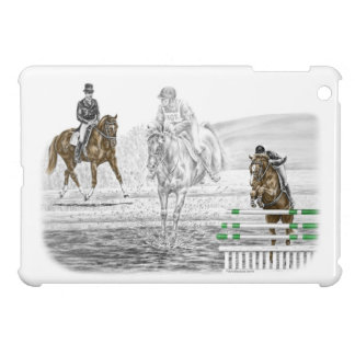 3-Day Eventing Horses Combined Training iPad Mini Covers