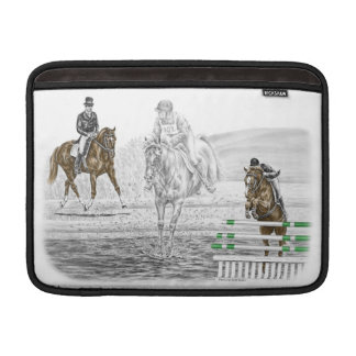 3-Day Eventing Horses Combined Training MacBook Air Sleeve