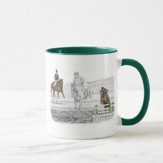 3-Day Eventing Horses Combined Training Mug