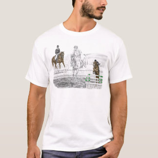 3-Day Eventing Horses Combined Training T-Shirt