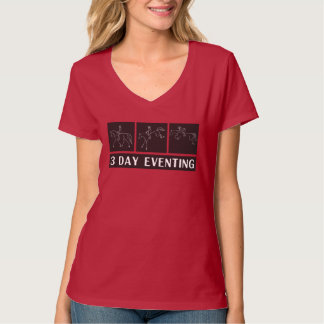 3 day eventing t-shirt