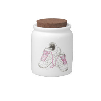 3 Day Walking Shoes Candy Dish