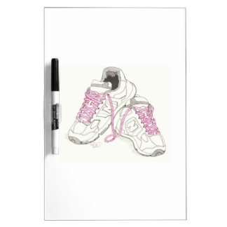 3 Day Walking Shoes Dry Erase Board