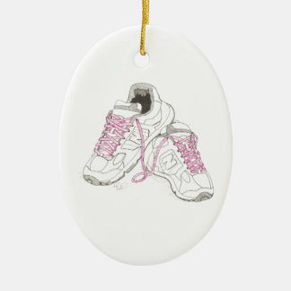3 Day Walking Shoes Christmas Tree Ornaments