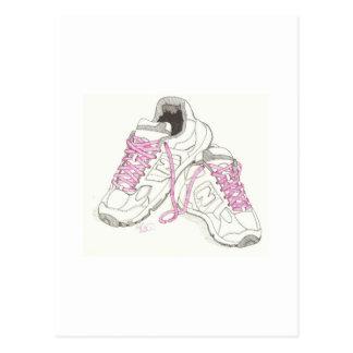 3 Day Walking Shoes Postcard