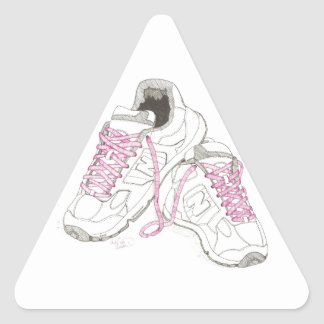 3 Day Walking Shoes Triangle Sticker