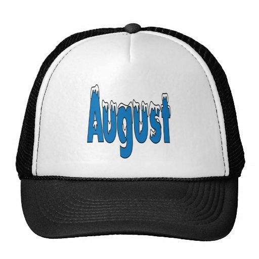 3 de agosto gorra