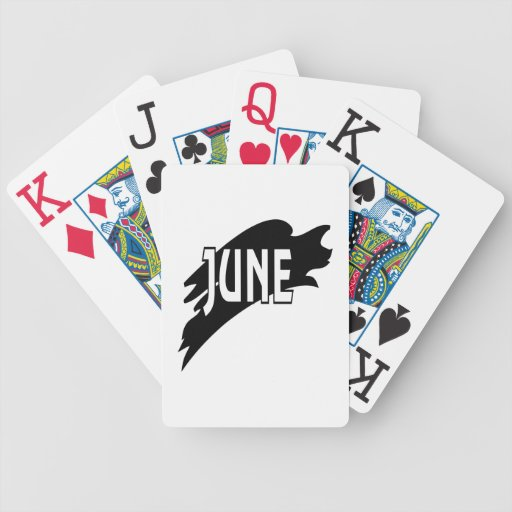 3 de junio baraja cartas de poker