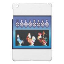 3 Delaware Chickens Case For The iPad Mini