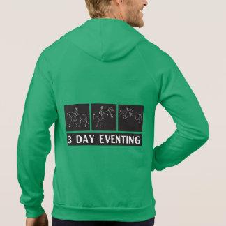 3 día Eventing Suéter Con Capucha