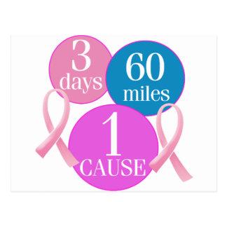 3 días 60 millas postal