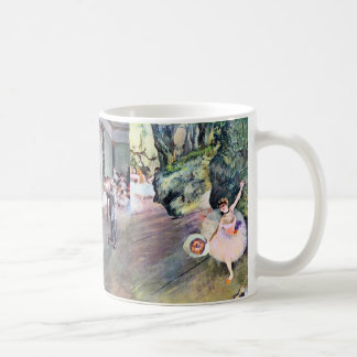 3 Different Ballerinas by Edgar Degas Coffee Mug