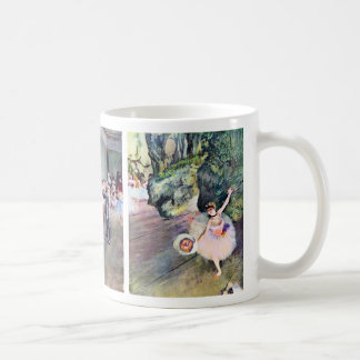 3 Different Ballet Ballerinas by Edgar Degas Coffee Mug