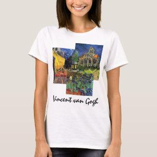 3 different Famous Vintage van Gogh Paintings T-Shirt