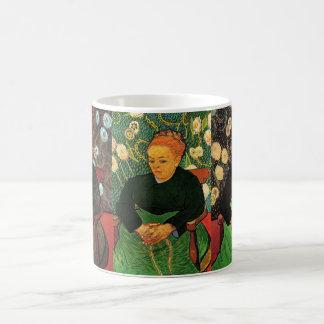 3 different van Gogh Portraits of Augustine Roulin Coffee Mug