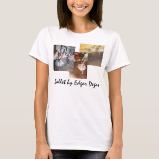 3 different Vintage Ballet Art by Edgar Degas T-Shirt
