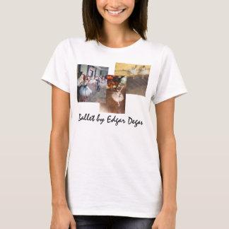 3 different Vintage Ballet Art by Edgar Degas T-Shirt