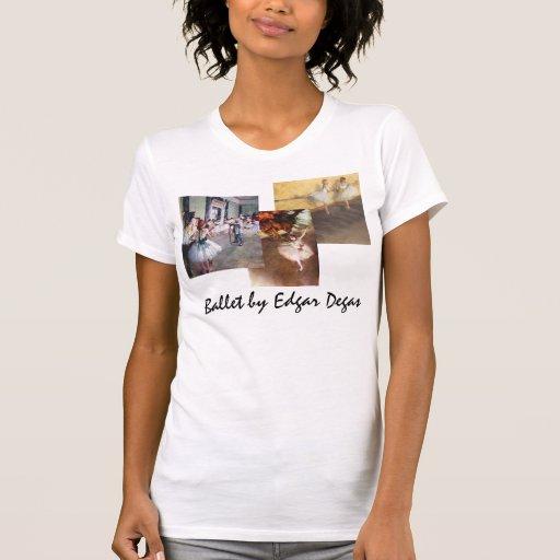 3 different Vintage Ballet Art by Edgar Degas T Shirt