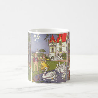 3 different Vintage Classic Fairy Tales by Hauman Coffee Mug