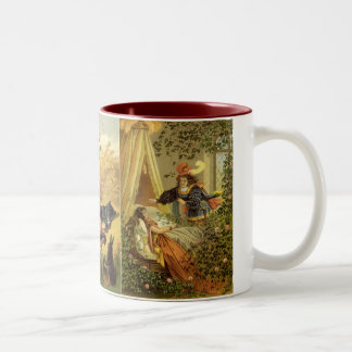 3 different Vintage Victorian Classic Fairy Tales Two-Tone Coffee Mug