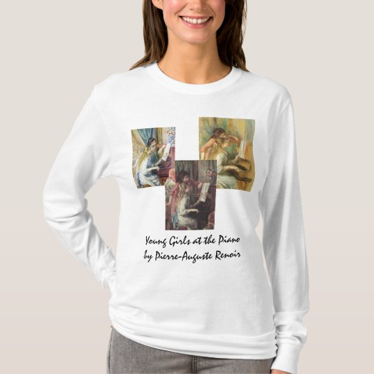 3 different Young Girls at the Piano by Renoir T-Shirt