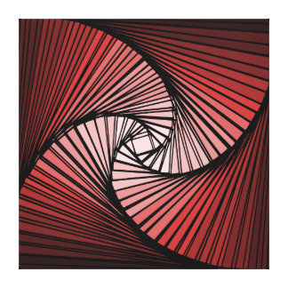 3 dimensional spiral stretched canvas prints