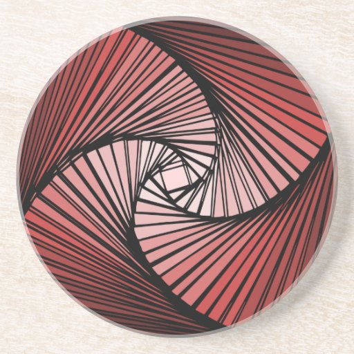 3 dimensional spiral coasters