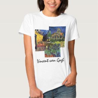 3 diversas pinturas famosas de Van Gogh del Camisas