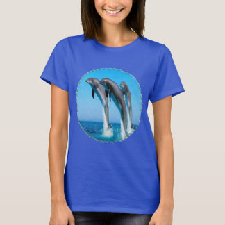 3 Dolphins T shirt, Women's T-Shirt
