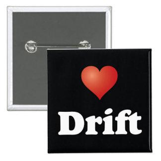 <3 Drift [Button] 2 Inch Square Button